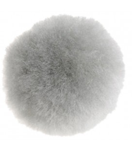 Pom-Pom - Bag 50 pcs. - Gray colour