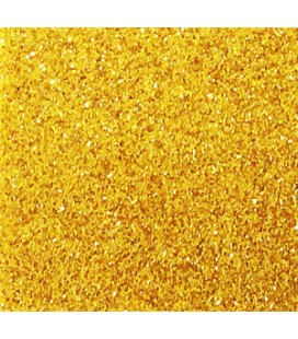 Eva Glitter rubber - Rolls 10 meters - Gold Color