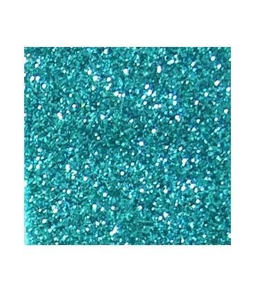 Eva Glitter Gummi - Rollen 10 Meter - Wassergrüne Farbe