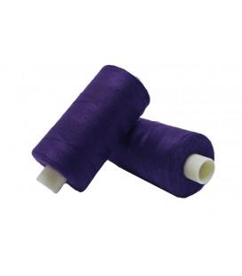 Polyester thread 1000m - Box of 6 pcs. - Eggplant