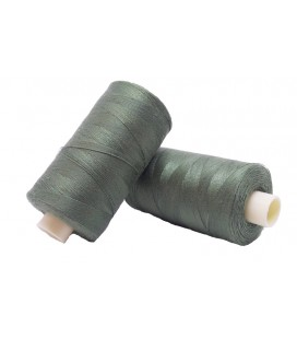 Polyester thread 1000m - Box of 6 pcs. - Light Khaki Color
