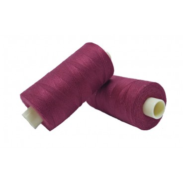 Polyester thread 1000m - Box of 6 pcs. - Tile color