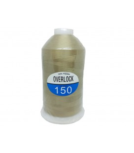 Beige Overlock Foam Thread