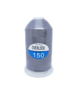 Hilo Espuma Overlock color gris
