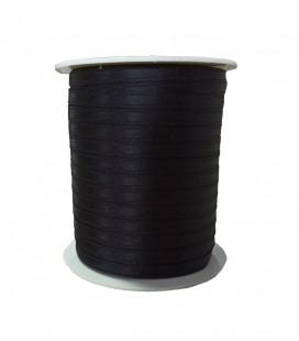 Double Side Satin Ribbon - 3/4 (6,5cm) - Rolle 100 Meter - Schwarze Farbe