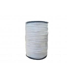 Cord 100% Cotton - Color White - Roll 100m