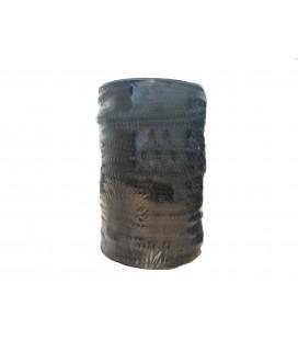 Cordón 100% Algodón - Color Negro - Rollo 100m