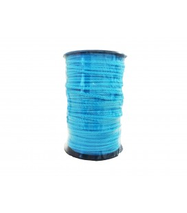 100% cotton cord- Color Turquoise Color - Roll 100m