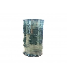 100% cotton cord - Bottle green color - Roll 100m
