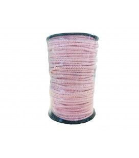 Cord 100% Cotton - Color Rosewood - Roll 100m