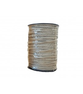 100% cotton cord- Color Beige Toasted - Roll 100m