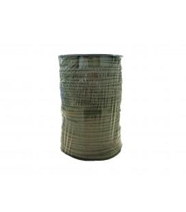 Schnur 100% Baumwolle - Farbe Khaki - Rolle 100m