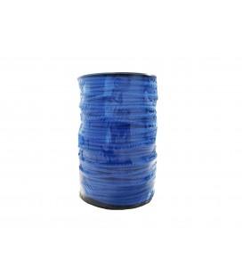 Schnur 100% Baumwolle - Farbe Electric Blue - Rolle 100m