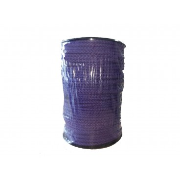 Cord 100% Cotton - Purple color - Roll 100m