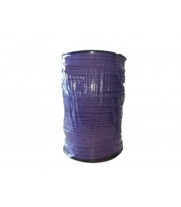 Cord 100% Cotton - Purple color - Roll 100m