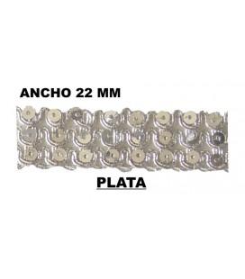 Passementerie (largeur 22mm) - Pièce 25 mts.