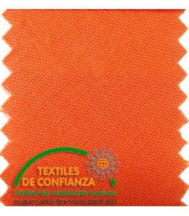 Bies Cotton 18mm - Couleur orange vif
