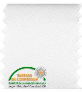 Schrägband Baumwolle 18mm - Weiß