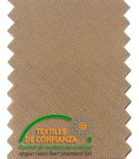 Bies Algodón 18mm - Color Marrón Pardo Oscuro