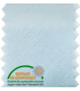 Schrägband Baumwolle 30mm - Farber Hellblau
