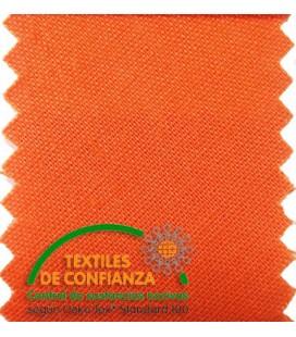 Bies Algodón 30mm - Azul Naranja Claro