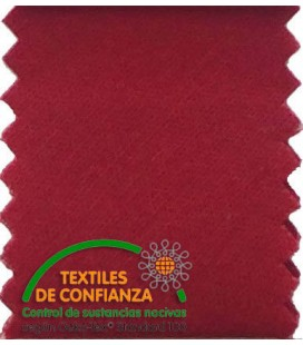 Cotton Bias Tape 30mm - Dark red color