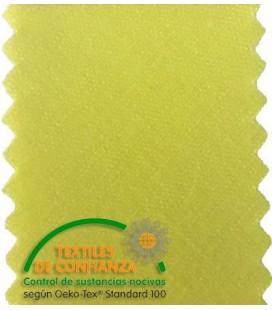 Bias en coton 30mm - Couleur jaune
