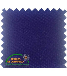 Baumwolle Satin 18mm - Farbe Electric Blue
