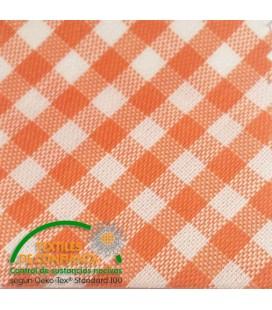 Schrägband Baumwolle - Orange