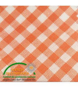 Bich Vichy 30mm - Orange Color