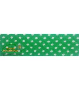 Bies estampado 18mm - Color Verde Andalucía