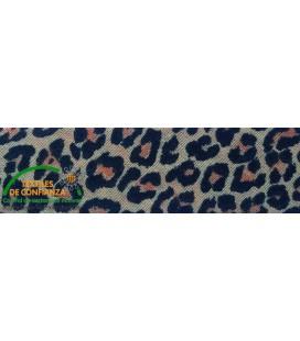 Bies estampado 18mm - Leopardo