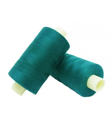 Polyester thread 1000m - Box of 6 pcs. - Green pine