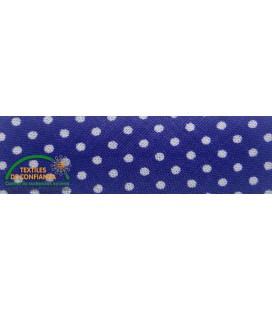Bies estampado 30mm - Color Azul Eléctrico
