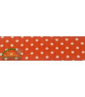 Biais estampé 30mm - Orange