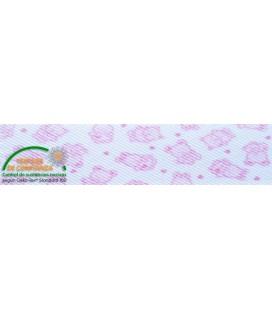 Bies gestempelt 30mm - Pink Bears