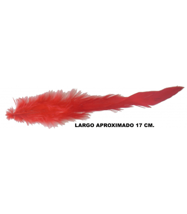 Feather Rooster Small (17cm aprox.) - 90 pcs. Approx. - 11 colors