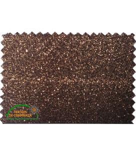 18mm Lurex Bias - Bronzefarbe