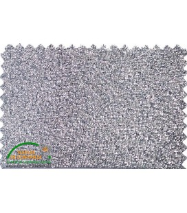 Bies Lurex 18mm - Color Plata