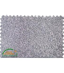 Bies Lurex 30mm - Color Plata