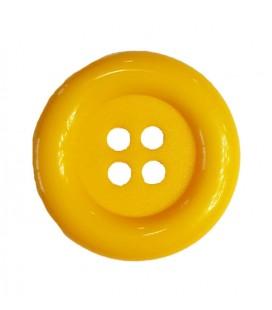 Botón payaso - Color amarillo - 25 y 100 unidades