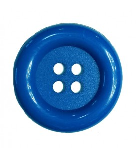 Clown button - Electric blue color - 25 and 100 units
