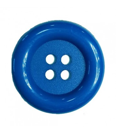 Clown button - Electric blue color - 25 and 100 units