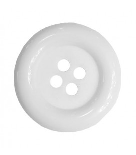 Clown button - White color - 25 and 100 units