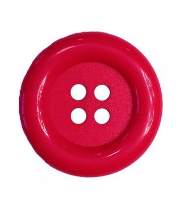 Clownknopf - Rote Johannisbeere Farbe - 25 und 100 Einheiten