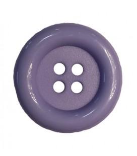 Botón payaso - Color lila - 25 y 100 unidades