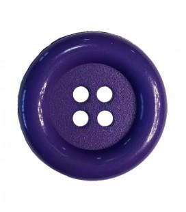 Botón payaso - Color morado - 25 y 100 unidades
