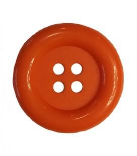 Botón payaso - Color naranja - 25 y 100 unidades