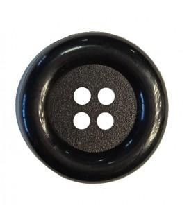 Clownknopf - Schwarz Farbe - 25 und 100 Einheiten