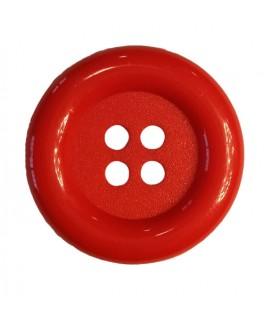 Botón payaso - Color rojo - 25 y 100 unidades